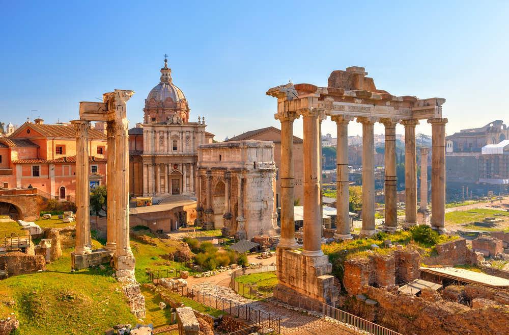 Italia, un país donde se respira historia