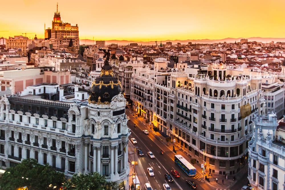 Viajo a Madrid sin ganas, pero como una Reina